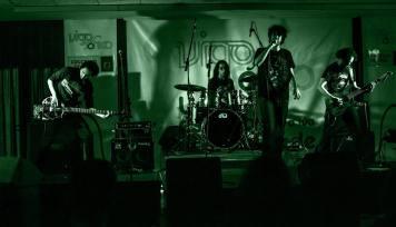 Actuación de Sentencia no Concerto Sónico de abril de 2015.