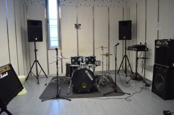 Foto Sala de ensaio de VigoSónico.