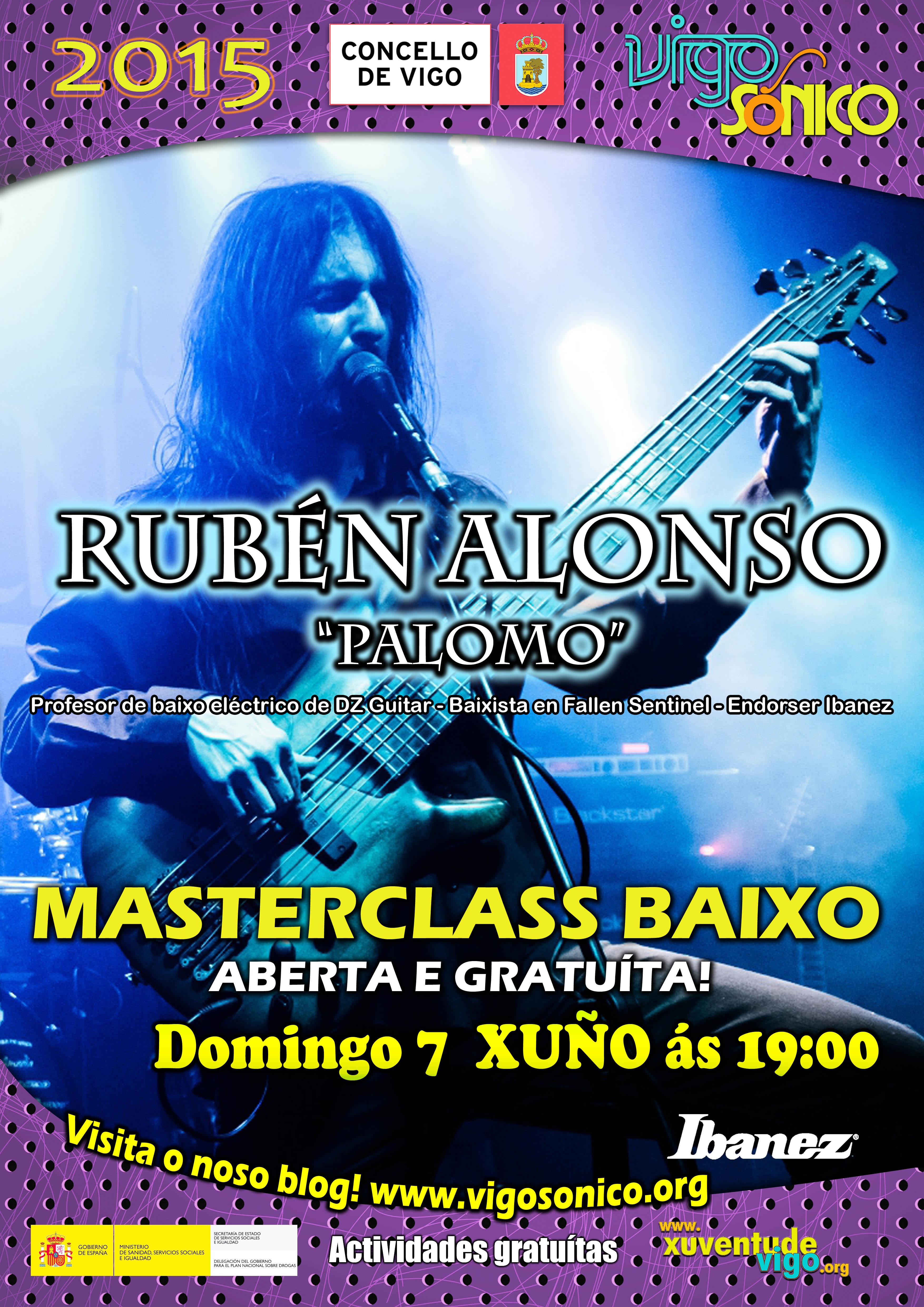 Master Class Baixo Eléctrico