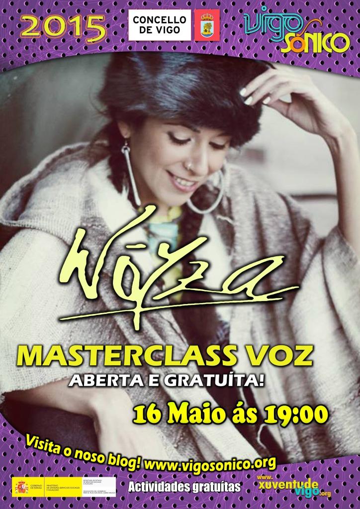 Master Class Woyza en Vigosónico.