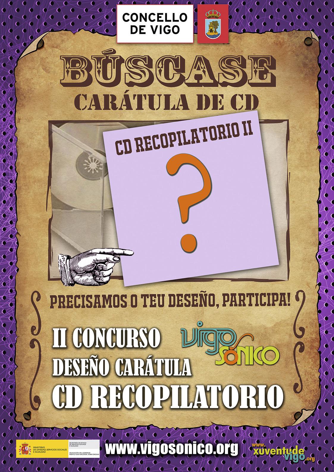 II CONCURSO DESEÑO CARÁTULA PARA CD RECOPILATORIOVIGOSÓNICO