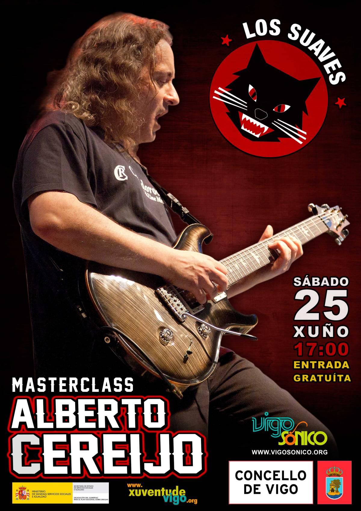 Master Class: Alberto Cereijo de LosSuaves.