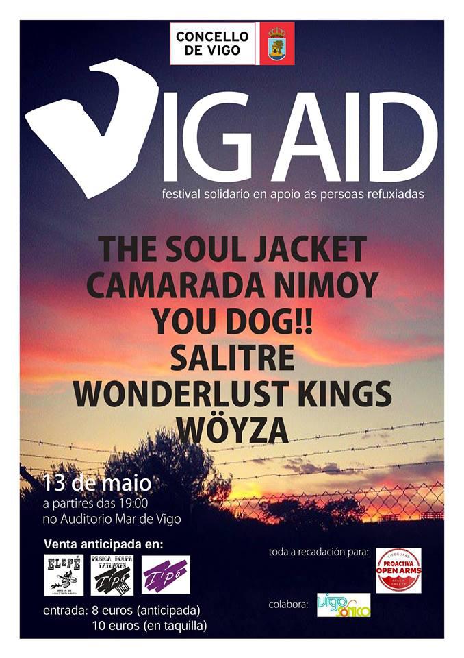 VIG AID – Festival Solidario en apoio ás persoasrefuxiadas
