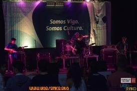 Concertos VigoSónico na Porta do Sol durante Vigo en Festas do Concello de Vigo.