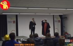 Presentación VigOtaku no salón.
