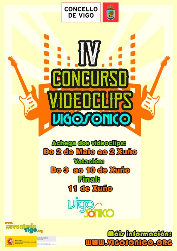 Concurso VideoClips musicais VigoSónico 2017:votacións.