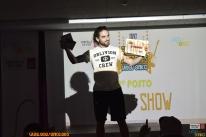 Ronin recollendo o 2º premio.