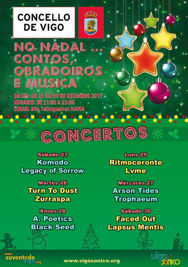 Concertos Navia no Nadal: gruposVigoSónico