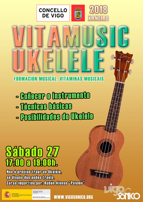 Vitamusic: Ukelele e Guitarra de Xaneiro de2018