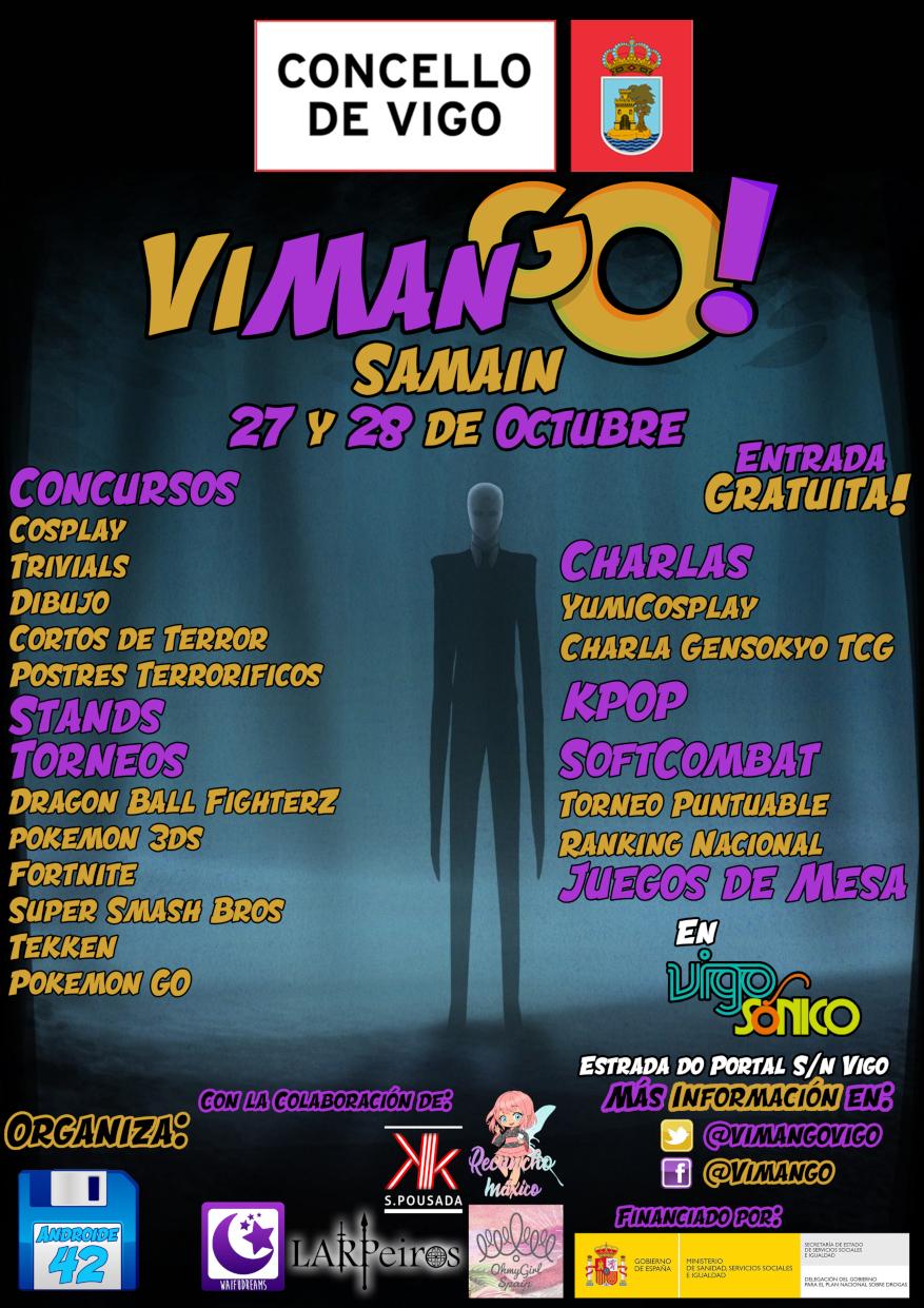 VimanGo Samaín 2018