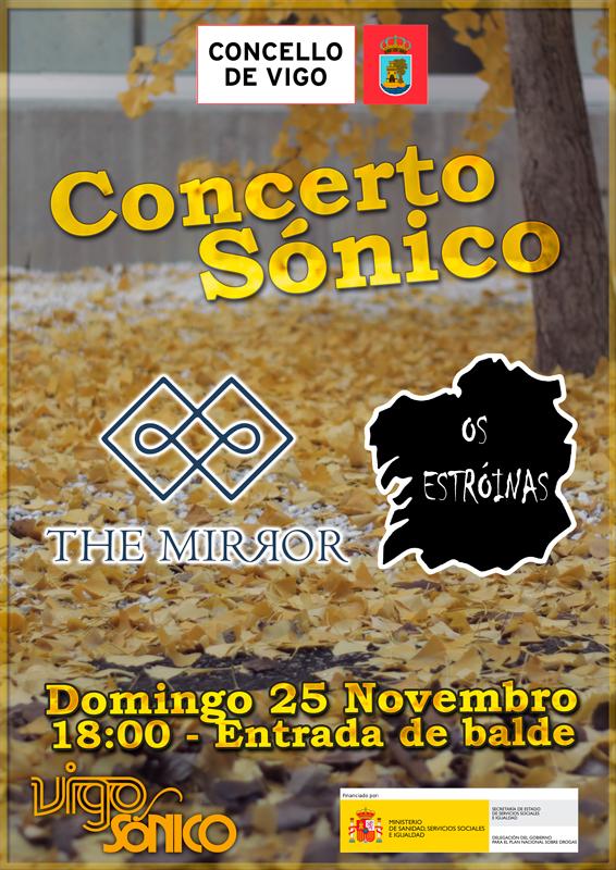 Concerto Sónico novembro 2018: The Mirror + OsEstróinas