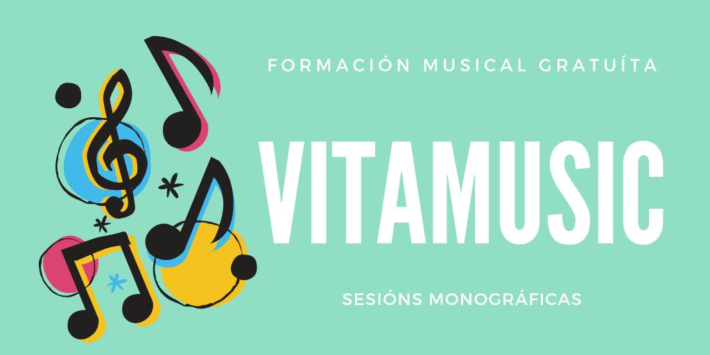 Vitamusic Marzo: obradoiros gratuítos de formaciónmusical