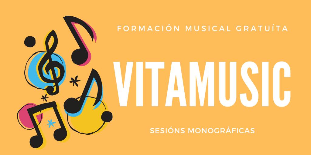 Vitamusic Abril: obradoiros gratuítos de formaciónmusical