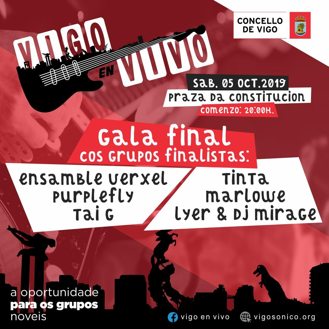 "Finalista Concurso ""Vigo en Vivo2019"""